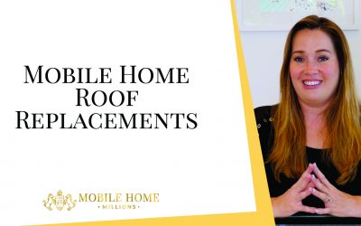 Mobile Home Roof Replacements